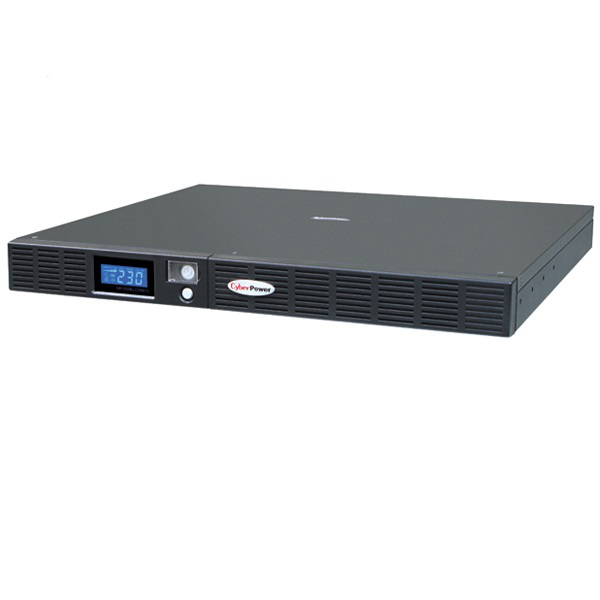 CyberPower OR1500ELCDRM1U 1500VA 6AC outlet(s) Rackmount Black uninterruptible power supply (UPS)