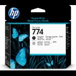 HP 774 Origineel Licht Grijs, Foto zwart Multipack