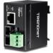 Trendnet TI-F10SC convertidor de medio 200 Mbit/s 1310 nm Multimodo Negro