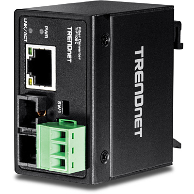 Trendnet TI-F10SC network media converter 200 Mbit/s 1310 nm Multi-mode Black