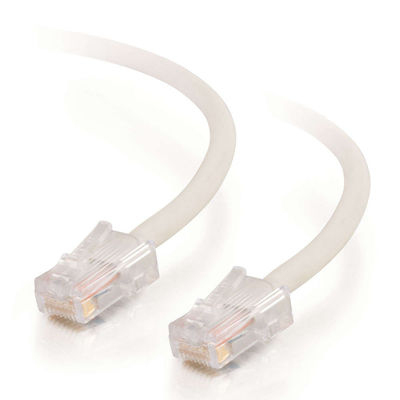 C2G Cat5E Assembled UTP Patch Cable White 20m cable de red Blanco