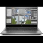 "HP ZBook Fury 15 G7 Estación de trabajo móvil Plata 39,6 cm (15.6"") 1920 x 1080 Pixeles Intel® Core™ i7 de 10ma Generación 16 GB DDR4-SDRAM 512 GB SSD NVIDIA Quadro RTX 3000 Wi-Fi 6 (802.11ax) Windows 10 Pro for Workstations"