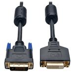 """Tripp Lite P562-010 DVI cable 120.1"""" (3.05 m) DVI-D Black"""