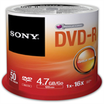 Sony 50DMR47SP blank DVD