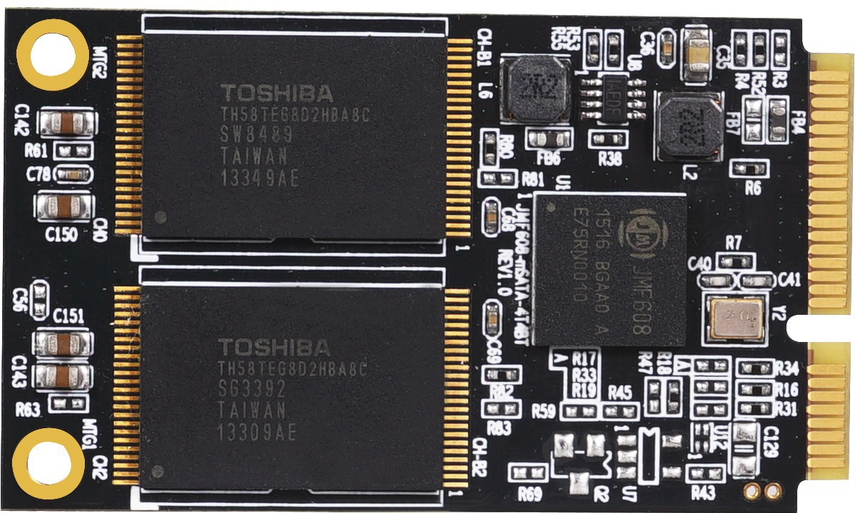 MicroStorage mSATA 512GB 3D TLC SSD