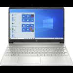 "HP 15s-fq1020na Notebook Silver 39.6 cm (15.6"") 1920 x 1080 pixels 10th gen Intel® Core™ i3 8 GB DDR4-SDRAM 128 GB SSD Wi-Fi 5 (802.11ac) Windows 10 Home S"