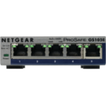 Netgear GS105E-200PES network switch Managed L2/L3 Gigabit Ethernet (10/100/1000) Grey