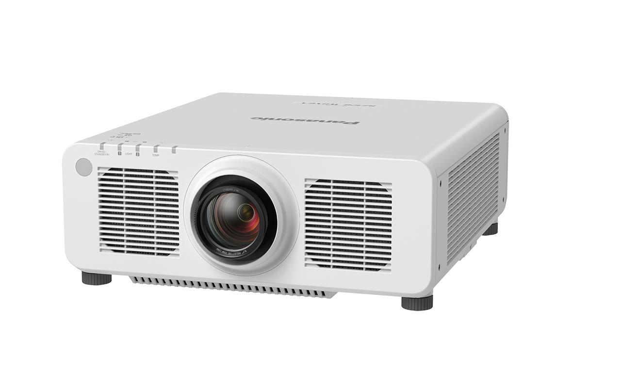 Panasonic PT-RZ120LWE data projector 12000 ANSI lumens DLP WUXGA (1920x1200) Ceiling / Floor mounted projector White
