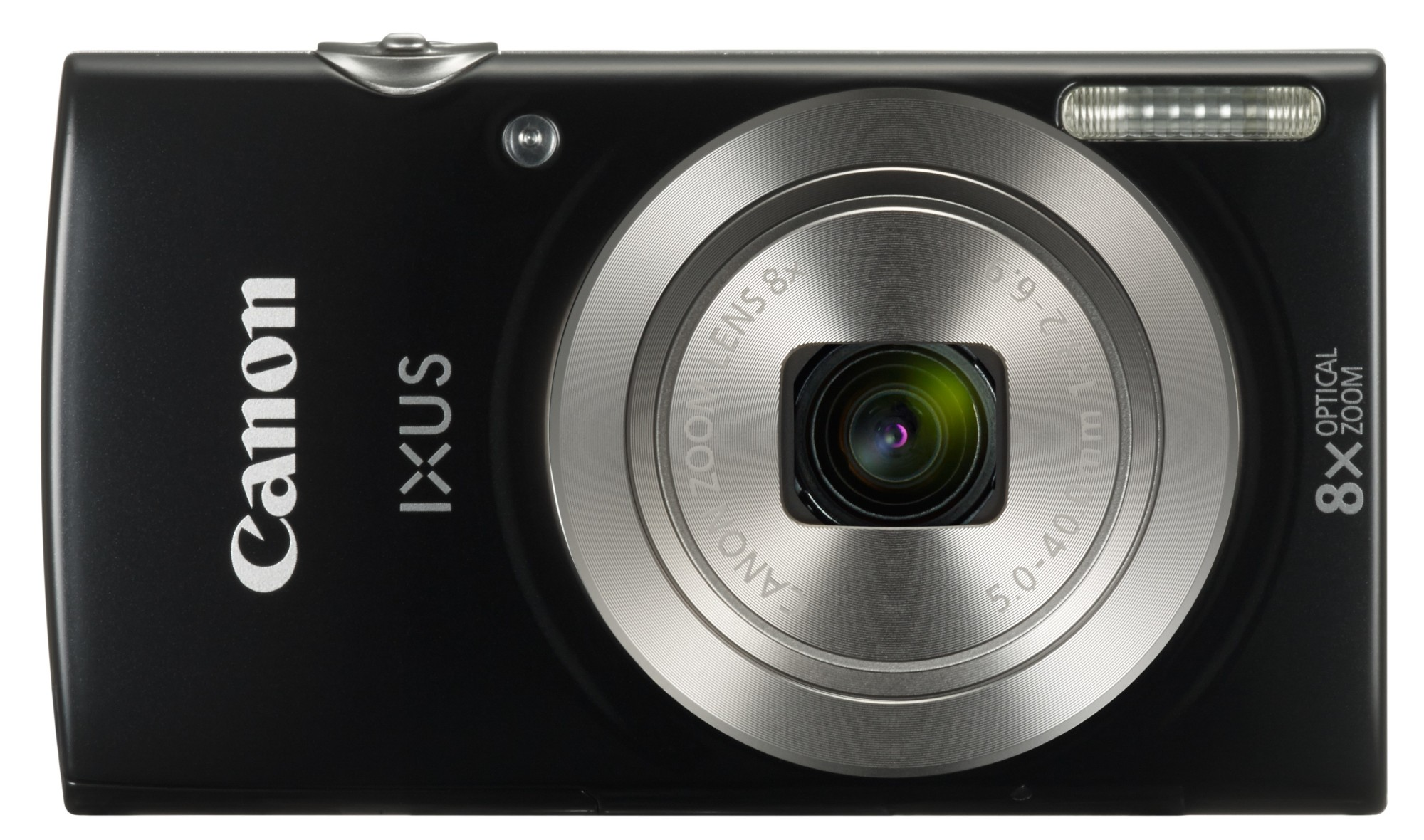 Compact  Digital Camera Ixus 185 20mpix 720p/25 Fps 8x Optical Zoom Black