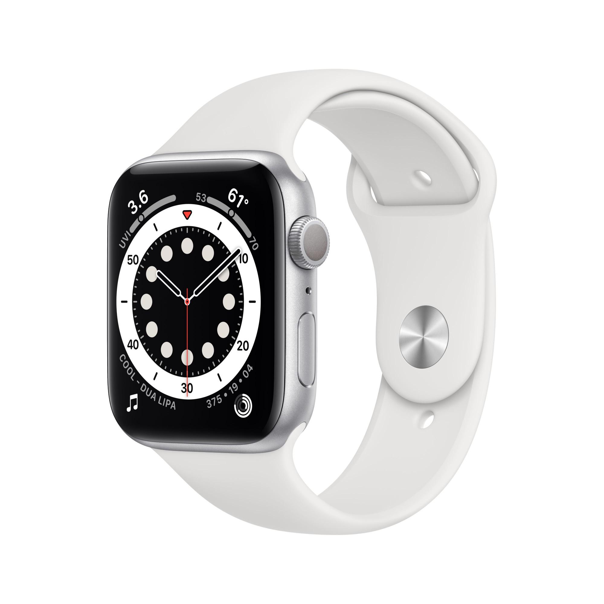 Apple Watch Series 6 OLED 40 mm Plata GPS (satélite)