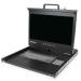 StarTech.com Consola KVM 1U con hub USB 2.0 y pantalla de 17 Pulgadas 1080p para rack