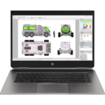 HP ZBook Studio x360 G5 Silber Mobiler Arbeitsplatz 39,6 cm (15.6 Zoll) 3840 x 2160 Pixel Touchscreen Intel® Core™ i7 der achten Generation 16 GB DDR4-SDRAM 512 GB SSD Windows 10 Pro