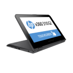 "HP x360 310 G2 1.6GHz N3700 11.6"" 1366 x 768pixels Touchscreen Black,Silver"