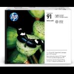 HP 91 Value Pack 775-ml Photo Black/Lt Gray DesignJet Ink Cartridges/Printhead