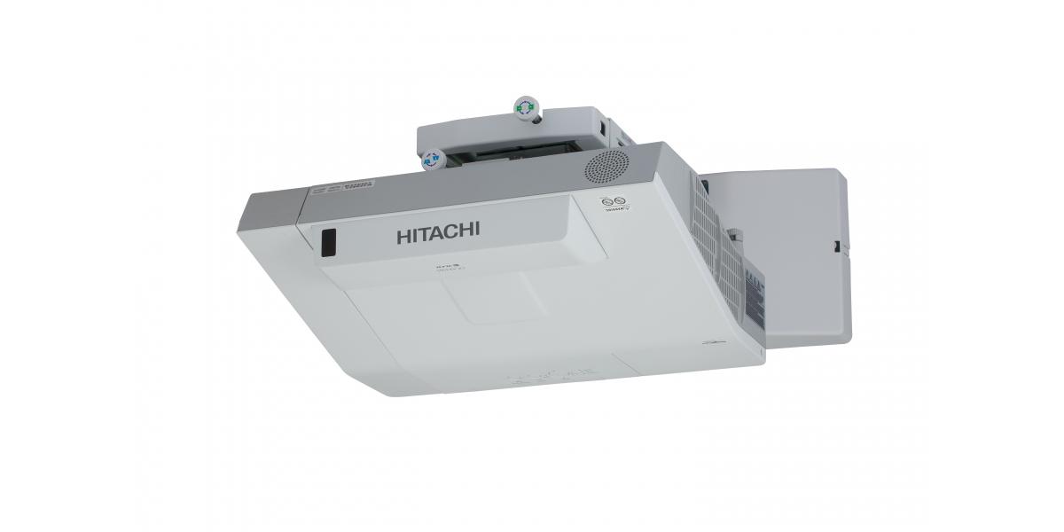 Hitachi CP-AX3005 UST Projector & Wall Bracket