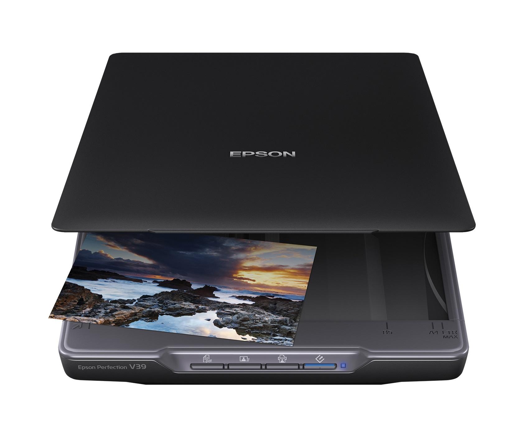 Epson Perfection V39 Flatbed scanner 4800 х 4800DPI A4 Black