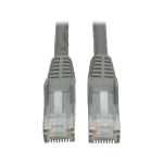 Tripp Lite Cat6 Gigabit Snagless Molded Patch Cable (RJ45 M/M) - Grey, 0.61 m networking cable