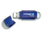 Integral Courier USB flash drive 16 GB USB Type-A 3.0 (3.1 Gen 1) Blue,Silver
