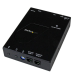 StarTech.com HDMI Video Over IP Gigabit LAN Ethernet Receiver for ST12MHDLAN - 1080p
