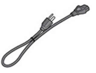 HP 8120-8882 1m C13 coupler Black power cable