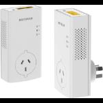 NETGEAR PLP2000 Pass thru Powerline 2000 Set (2x PLP2000)
