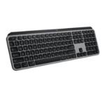 Logitech MX Keys for Mac keyboard RF Wireless + Bluetooth QWERTY US International Aluminium, Black
