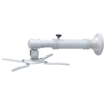 Newstar BEAMER-W050SILVER projector beugel Muur Zilver