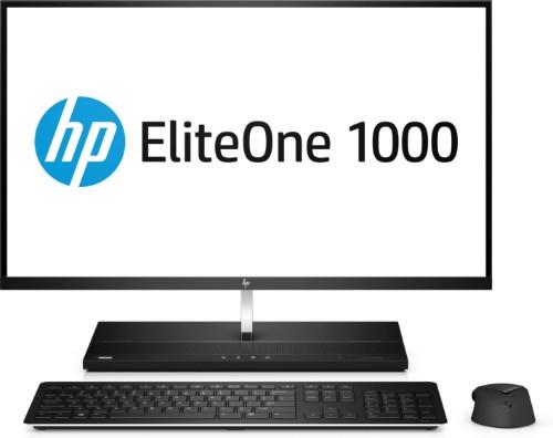 """HP EliteOne 1000 G2 68.6 cm (27"""") 3840 x 2160 pixels 8th gen Intel® Core™ i7 16 GB DDR4-SDRAM 256 GB SSD Windows 10 Pro Wi-Fi 5 (802.11ac) All-in-One PC Black"""