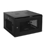 CyberPower CR6U61001 rack cabinet 6U Wall mounted rack Black