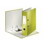 Leitz 180  WOW Cardboard Green ring binder