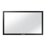 "Samsung CY-TD40LDAH 40"" Multi-touch touch screen overlay"
