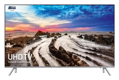 "Samsung MU7000 49"" 4K Ultra HD Smart TV Wi-Fi Black, Silver LED TV"