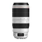 Canon EF 100-400mm f/4.5-5.6L IS II USM SLR Telephoto lens Black, White
