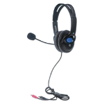 Manhattan 179317 headphones/headset Head-band Black