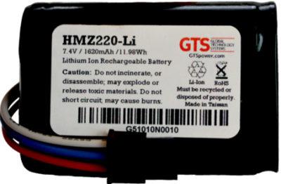 GTS HMZ220-LI pieza de repuesto de equipo de impresión Batería Impresora de recibos
