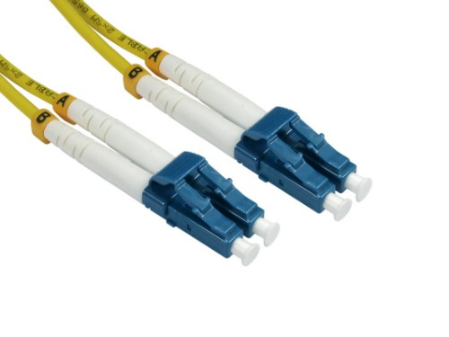 Cables Direct FB2S-LCLC-020Y fiber optic cable 2 m 2x LC Yellow