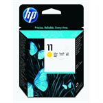 HP C4813A (11) Printhead yellow, 16.000 pg/bk 24.000 pg/c, 8ml