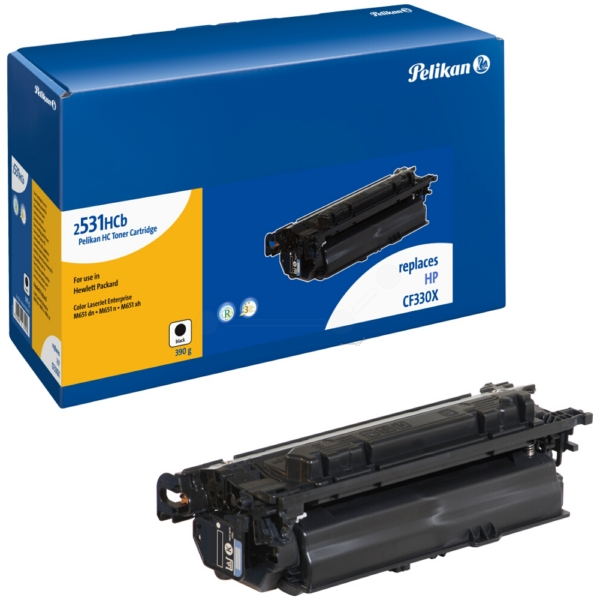 Toner (2531HCB) compatible black, 20.5K pages, 390gr, Pack qty 1 (replaces HP 654X)