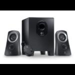 Logitech Speaker System Z313 25 W Black 2.1 channels