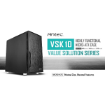 Antec VSK10 mATX Case. 2x USB 3.0 Thermally Advanced Builder's Case. 1x 120mm Fan. Two Years Warranty