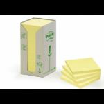Post-It 654-1T self-adhesive label Yellow 16 pc(s)