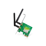 TP-LINK (TL-WN881ND) 300Mbps Wireless N PCI Express Adapter 2 Detachable Antennas Low Profile Bracket
