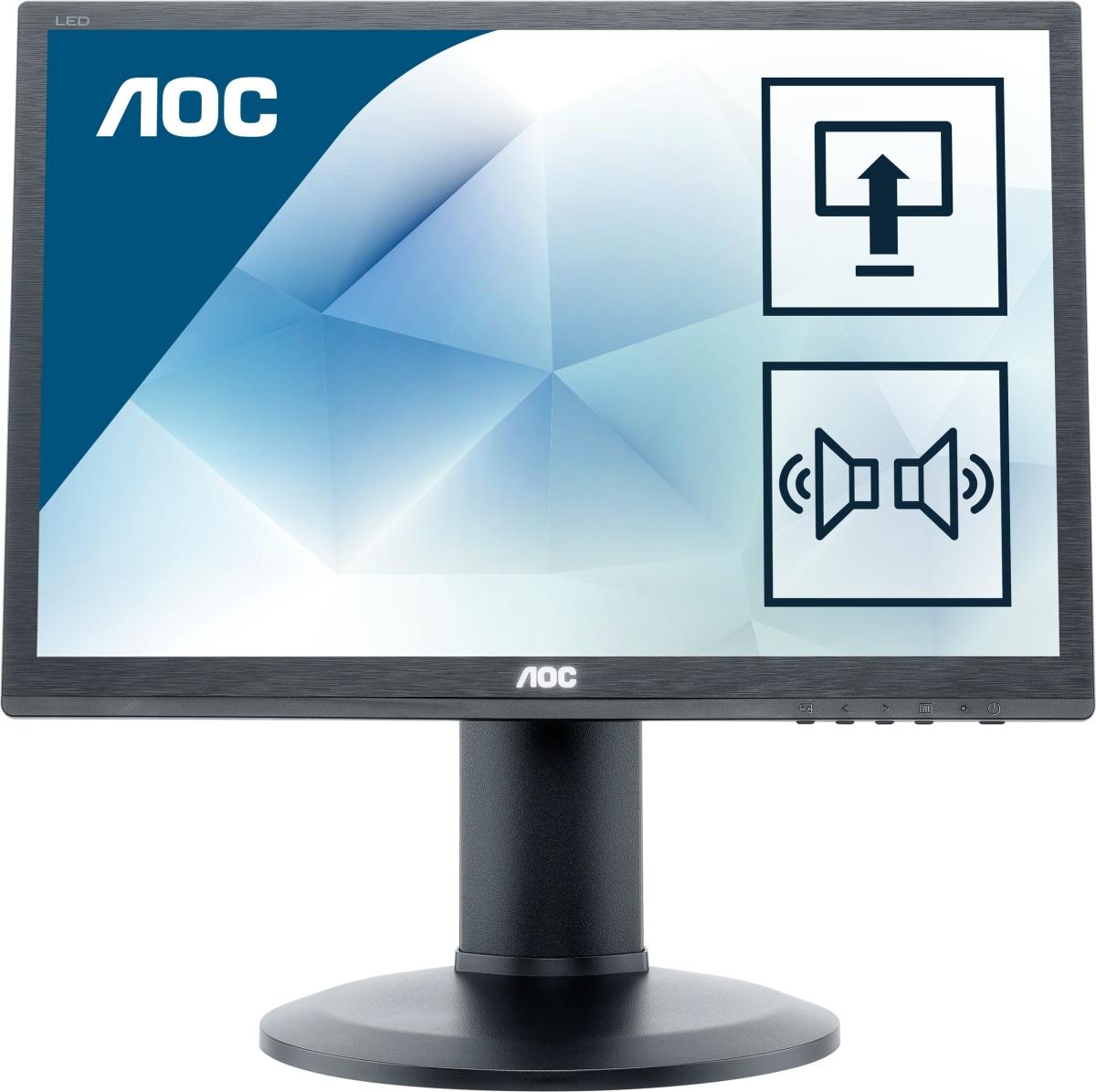 Monitor LCD 24in E2460pq/bk 1080p 60hz 250cd/m2 1000:1 2ms D-sub DVI-d Dp Black
