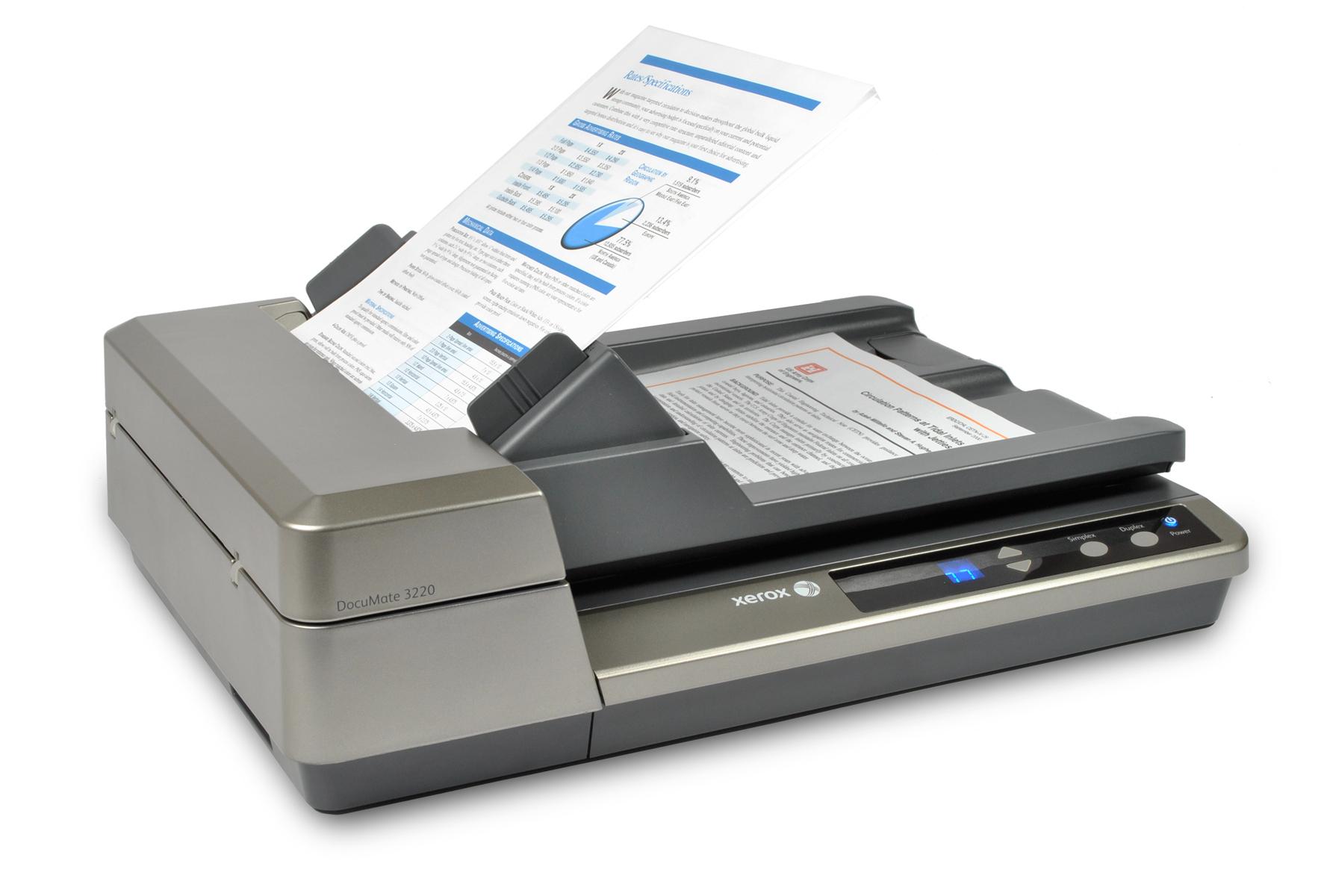 Documate 3220 Scanner 23ppm/46ipm@200dpi Duplex A4, 600dpi, USB2.0