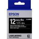 Epson C53S654009 (LK-4BWV) DirectLabel-etikettes, 12mm x 9m
