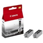 Canon 1509B012 (PGI-35 BK) Ink cartridge black, 191 pages, 9ml, Pack qty 2