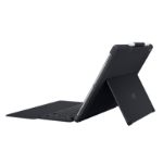 Logitech Slim Combo Smart Connector Swiss Black mobile device keyboard