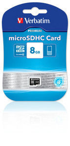 Verbatim VB-TFHC10-08G memory card