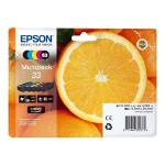 Epson C13T33374021 13.5ml 6.4ml Black, Cyan, Magenta, Yellow ink cartridge