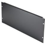 StarTech.com 4U Blank Panel for 19 inch Rack - Rack Mount Blanking Panel for Server/Network Racks, Enclosures & Cabinets - 4RU Rack Filler Panel/Spacer/Plates - Solid Panel - Steel RKPNL4U